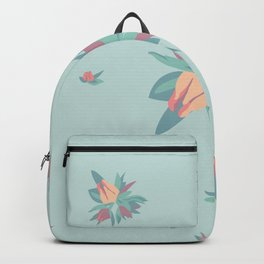 Succulent floral element & patterns Backpack