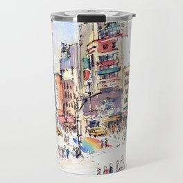 Ximen in Taipei city Travel Mug