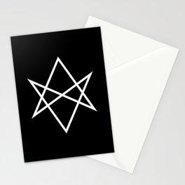 Unicursal Hexagram Stationery Cards