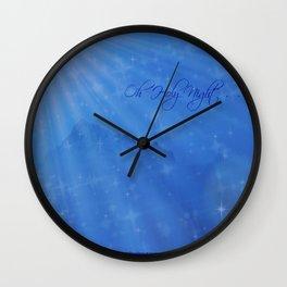Oh Holy Night Wall Clock