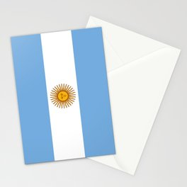 Flag of argentina -Argentine,Argentinian,Argentino,Buenos Aires,cordoba,Tago, Borges. Stationery Cards