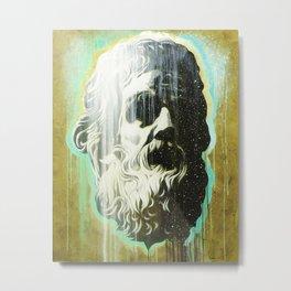 HOLYGHOSTFACE Metal Print