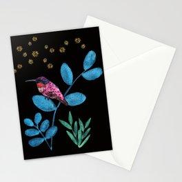 Jewel Birds Stationery Cards