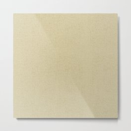 Simply Linen Metal Print