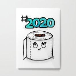 #2020 Metal Print