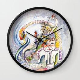 R.B.Sea Snake Wall Clock