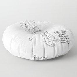 NASA Space Suit Patent Floor Pillow