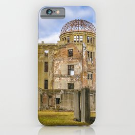 Hiroshima Peace Park, Hiroshima, Japan iPhone Case