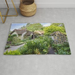 The Duck Island Cottage Garden, St James's Park in London | Color | Travel Photography | Photo Print | Art Print Rug