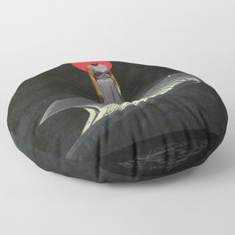 Timeless Anticipation Floor Pillow