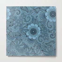 Moonflowers. Metal Print