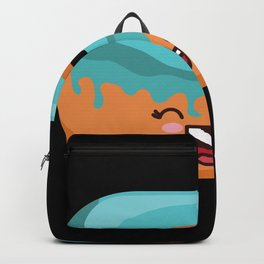 Smiling Donut Backpack