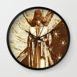 "Dante Gabriel Rossetti ""Dantis Amor (Dante's Love)"" (I) Wall Clock"