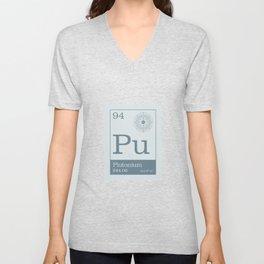 Periodic Elements - 94 Plutonium (Pu) Unisex V-Neck