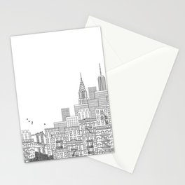 New York Hand Drawn Illustration Stationery Cards