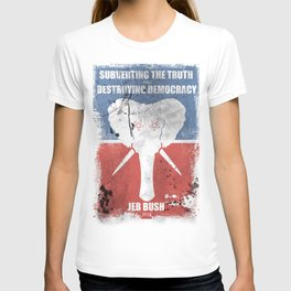 SUBVERTING THE TRUTH  T-shirt