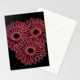 flores remanescente!! Stationery Cards