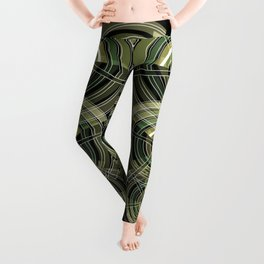 Exploded view camouflage Leggings