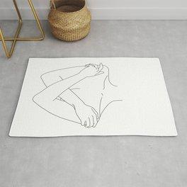 Crossed arms illustration - Joyce Rug