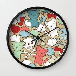 creepy cute Wall Clock