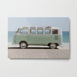 Summer Van III Metal Print