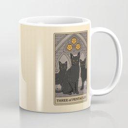 Three of Pentacles Coffee Mug