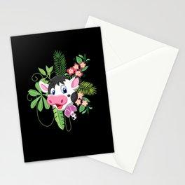 Children's Cow Jungle Plant Blümchen Motive Stationery Cards