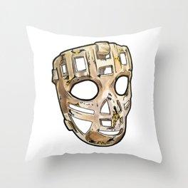 Hall Mask Throw Pillow