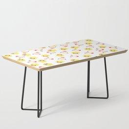 final fantasy chocobo moogle pattern Coffee Table