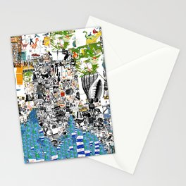 Oli Goldsmith Portrait of The Artist as His Art Stationery Cards