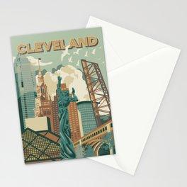 Cleveland City Scape Stationery Cards