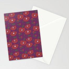 Tsubaki Japanese Pattern Stationery Cards