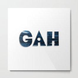 GAH Metal Print