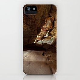 the view inside the cave iPhone Case