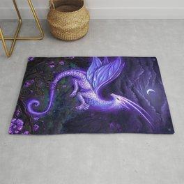 moonlight dragon Rug