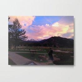 Estes park sunrise Metal Print