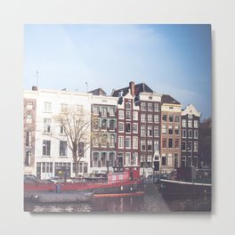 Dutch Architecture Metal Print