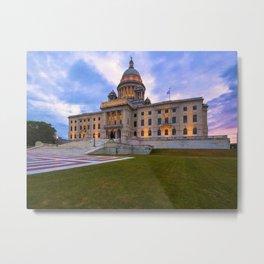 Rhode Island State House - Providence, Rhode Island Metal Print
