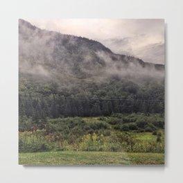 Vermont Hills Metal Print