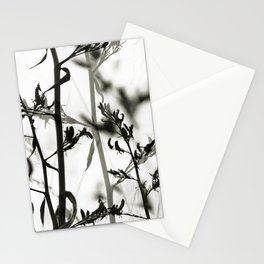New Zealand Flax silhouettes Stationery Cards