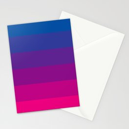 Bisexual Moon Flag  Stationery Cards
