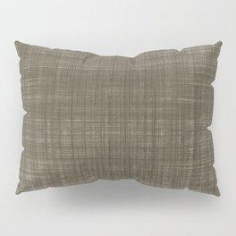 Tissu d'écorce Charcoal Pillow Sham