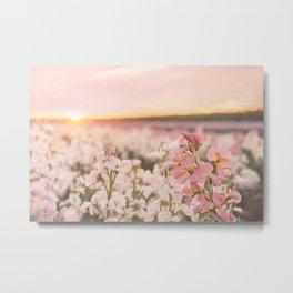 Flower Sea Metal Print