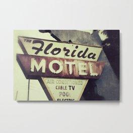 Florida Road Trip Metal Print