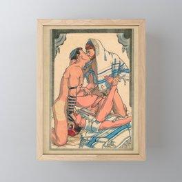 Jewish Passion Framed Mini Art Print