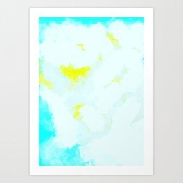 Dissolves  Art Print
