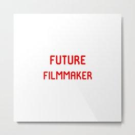 Future Filmmaker Red Film School Student Metal Print