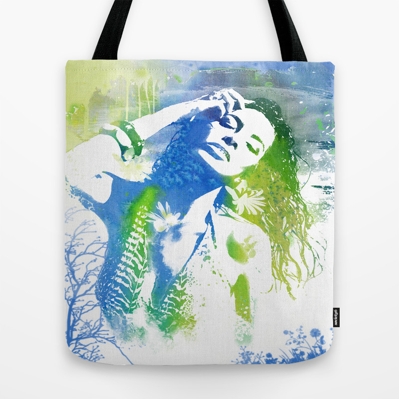 Summer Splash Tote Bag by Artsmitten TBG981097