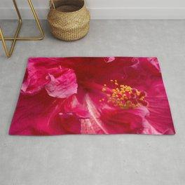Big Pink Hibiscus Flower The Xandri Collection Rug