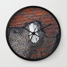 Her Secret Past Wall Clock